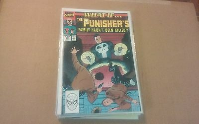 What If Vol. 2 #10 Feb 1990 Fine What If The Punisher's Family Hadnt Been Killed