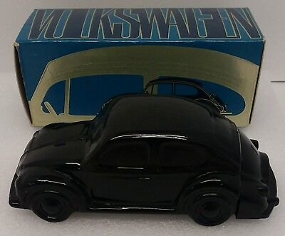 Vintage Avon Glass Bottle~Volkswagon Bug/beetle~W/wild Country After Shave & Box