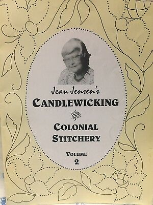 Jean Jensen's Designs fro this and That   ~  Candlewicking Vol 2     - Scarce