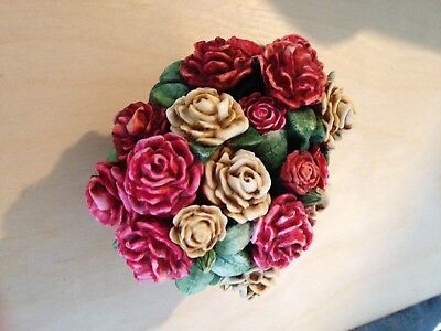 Lord Byron Harmony Garden Collectible Decorative Box Limited Edition Rose Basket