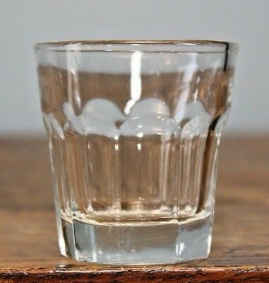 "IKEA POKAL 2 Ounce Shot Glasses Clear Glass 2 1/8"" tall 21143"