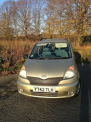 Toyota Yaris Verso GLS 2001 (Y). 81,349 mls 15 Full Service Stamps*. No Reserve