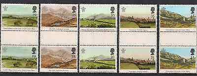 1994 Qeii Prince Of Wales Commemorative Stamp Gutter Pairs Sg 1810 - 1814 Nmnh