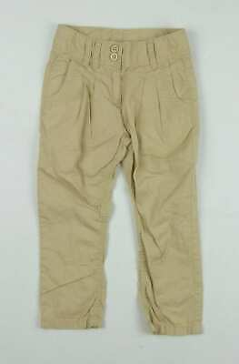 Next Girls Beige Trousers Age 4