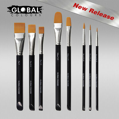 Global Face Painting Brushes.... All Types.. Cheapest Too!