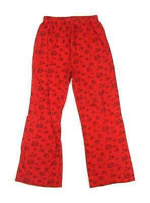 Debenhams Girls Red Graphic Trousers Age 8-9