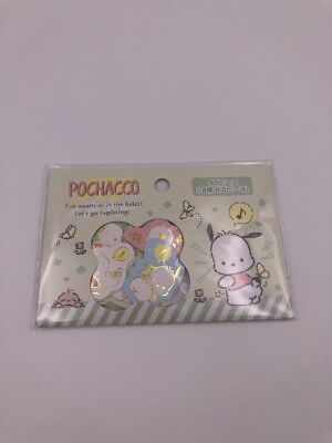 Sanrio Japan: Pochacco Stickers (A1)