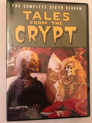 NEW Tales from the Crypt: The Complete Sixth Season (DVD, 2017)