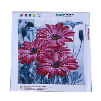 5D Stick Drill Cross Stitch Chrysanthemum Living Room Decorative Painting LT
