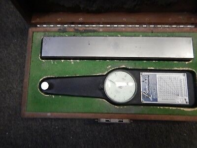 Lapmaster Flatness Gage With .0001 Indicator