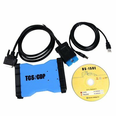 TCS CDP PRO with Bluetooth Car & Truck Auto Diagnostic Tool Scanner CD Release 3