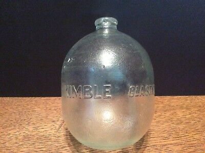 Kimble Glastite Float Vintage Glass Toilet Float