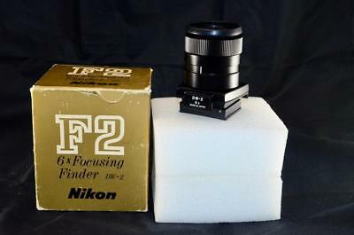 Nikon F F2 DW-2 6x Magnifying Focusing Finder Viewfinder with Box