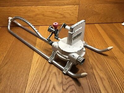 Vintage CRAFTSMAN Oscillating Adjustable Multi-Setting Metal Lawn Sprinkler 3037