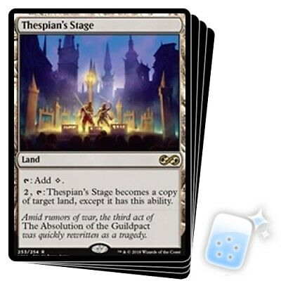 THESPIAN'S STAGE X4 Ultimate Masters Magic MTG MINT CARD