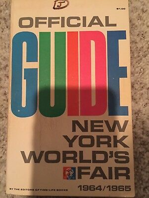 1964/1965 New York Worlds Fair Official Guide from Time Magazine