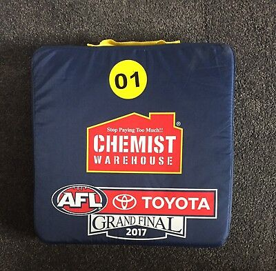 2017 AFL Grand Final Seat Cushion Adelaide Crows v Richmond Tigers