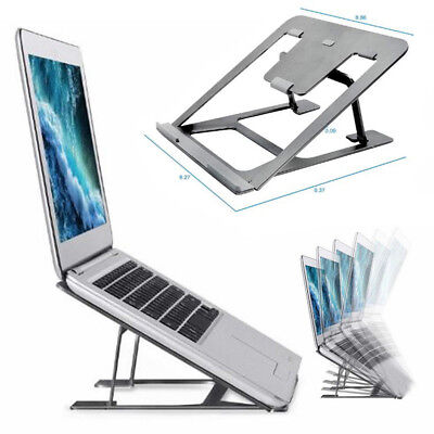Folding Portable Laptop Tablet PC Notebook Stand Tablet Holder Dock Adjustable