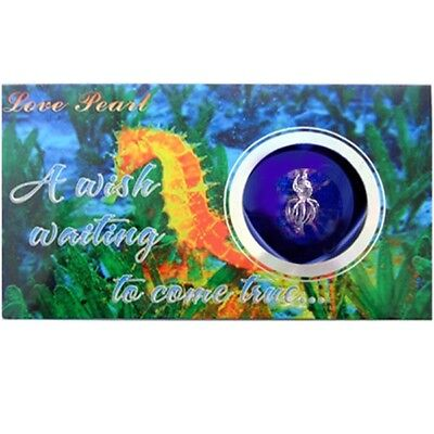 MERZIEs Wish Cage Harvest your own Pearl Pendant SEAHORSE Love Chain Box Kit USA