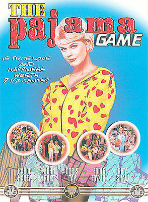 """The Pajama Game (DVD, 2004) DORIS DAY, NEW  """" SHIPS IN 24 HOURS OR LESS """""""