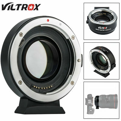 Viltrox EF-EOS M2 Auto Focus Lens Adapter 0.71X for Canon EF Lens to EOS-M50 M10