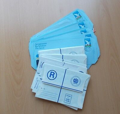 Approx 35 Lesotho Postal Stationery & 2 Commercial Mail Covers. See Pics
