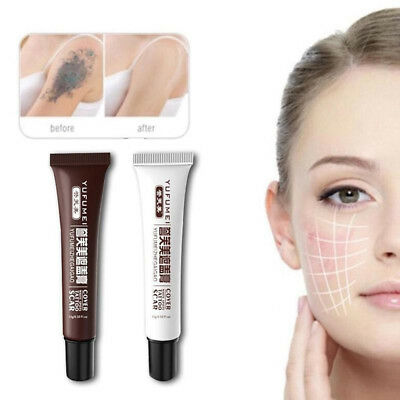 97a0de8814 White Beauty Birthmark Hide Cream Scar Concealer Camouflage Tattoo Cover Up