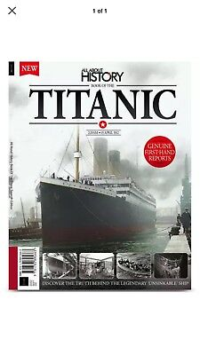 All about history Book of the Titanic 7th Edition brand new