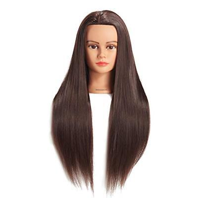 Cosmetology Mannequin Human Head Hair Styling Hairdresser Training Doll Model