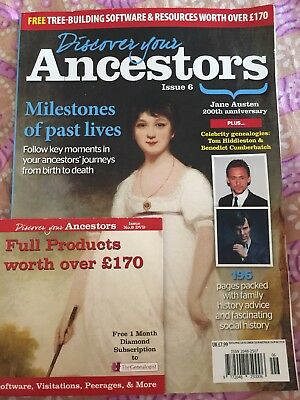 Discover Your Ancestors Issue 6(brand new magazine)