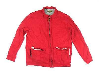 Ted Baker Boys Red Geometric Jacket Age 13-14