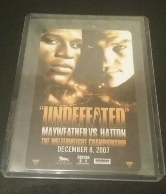 Floyd Mayweather Vs Ricky Hatton Boxing Hotel Room Key Card Mint