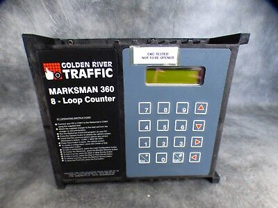 A Golden River Traffic Marksman 360 Portable Traffic Counter