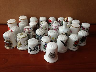 Thimble collection - 28 - fauna & animals