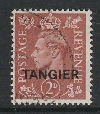 Tangier 1950 2d Pale red-brown SG 283 Fine used.