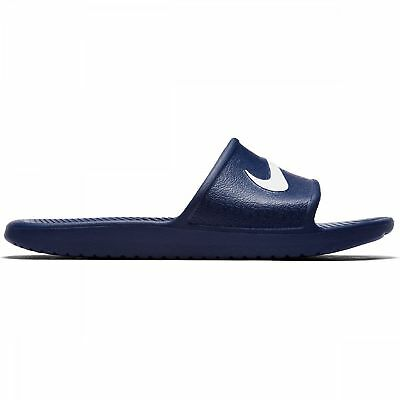 on sale f7078 394f6 Nike Sandales de Plage Kawa Bleu Tongs Sauna Chaussures Piscine  Massageslatschen