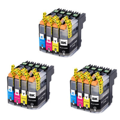 12 Ink Brother MFC-J6520DW MFC-J6720DW MFC-J6920DW MFC-J870DW DCP-J4110DW  LC123