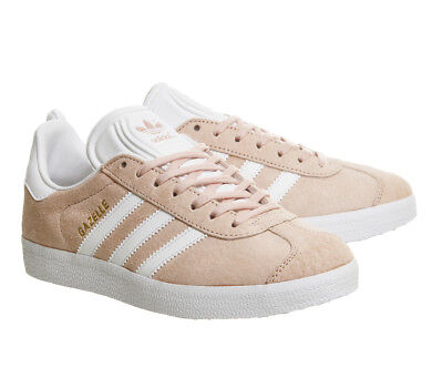 Adidas Originals Gazelle BB5472 mens trainers shoes vapour / blush pink suede
