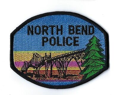 North Bend (Coos County) OR Oregon Police patch - NEW!