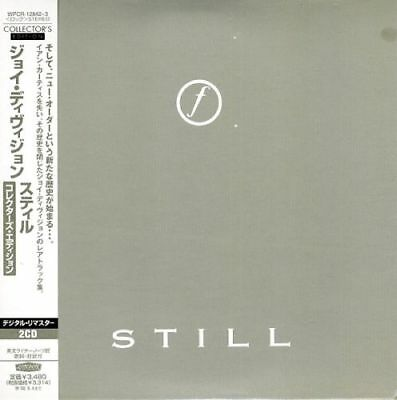 JOY DIVISION STILL 2 CD MINI LP  WITH  OBI booklets