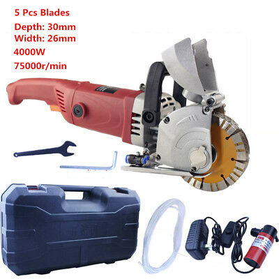 220V Hydropower installation wall Chaser Concrete cutting Grooving machine 30mm