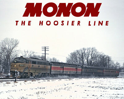 MONON The Thoroughbred Train Sturdy Metal Sign