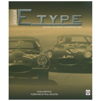 Jaguar E-Type Factory And Private Competition Cars Hardback Book