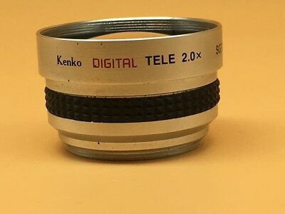 Kenko SGT-20 'Digital' 2x Tele Converter / Adaptor Lens For 37mm Filter Ring