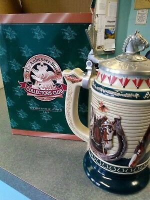 The Anheuser-Busch Collectors Club Membership Stein 2000
