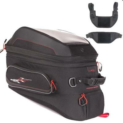 Bagster Adventure Tabs Expandable Tank bag with traditional fittings