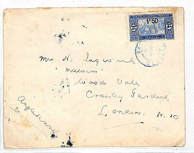 LL27 FRENCH COLONIES Senegal Africa London: Samwells-covers
