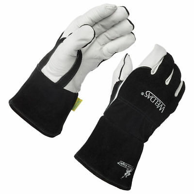 Weldas Arc Knight Premium Lined MIG/TIG Welding Gloves, Size S M L XL