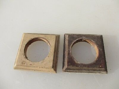 Vintage Light Switch Wooden Plaque Art Deco Antique Old Dolly Toggle -£4 each