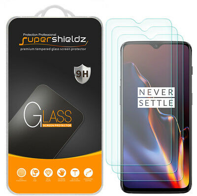 3X Supershieldz Tempered Glass Screen Protector Saver for OnePlus 6T